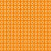 ljus orange blommönster på orange