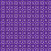 lila Blumenverzierungsmuster vektor