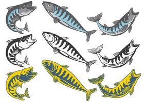 Free Mackerel Icons Vektor