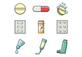 Freie Medizin Vektor