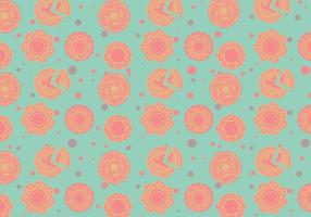 Mooncake mönster vektor