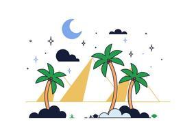 Freier Wüstenvektor
