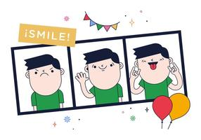 Gratis Photo Booth Vector