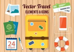 Gratis Vector Travel Tillbehör