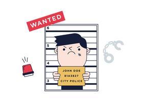 Free Criminal Vector