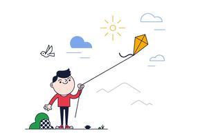 Free Kite Vektor