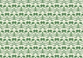 Smaragd Rebe Vektor westlichen Blütenmuster