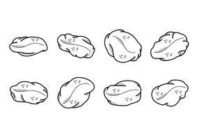 Tecknad russin vektor