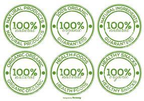 Organische Produkt-Lables