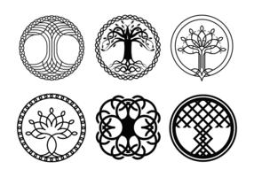Freier keltischer Baum Vektor