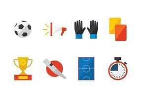 Futsal platt ikon