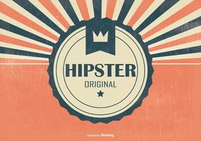 Retro Hipster Stil Hintergrund