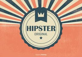 Retro Hipster Style Bakgrund