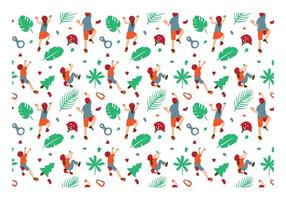 Klättring Wall Kids Pattern