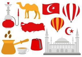 Kostenlose Türkei Icons Vektor