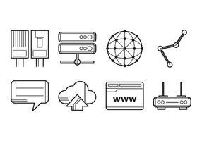 Gratis Internet Icon Vector