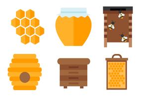 Gratis Honey Vector
