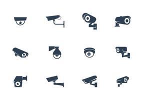 CCTV-kameror Vector