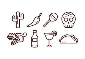 Kostenlos mexiko icon set