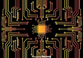 Microchip Bakgrund vektor