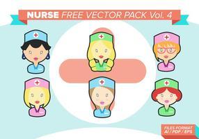 Sjuksköterska Gratis Vector Pack