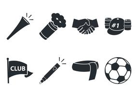 Fußball-Fan-Icon vektor