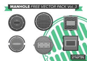 Manhole free vector pack vol. 3