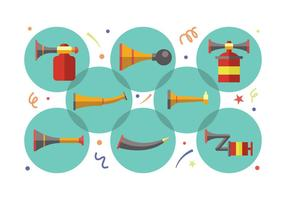 Vuvuzela Symbole