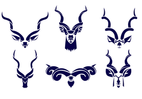 Kostenlose Kudu Logo Vektor