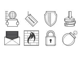 Free Cyber Crime Icon Vektor