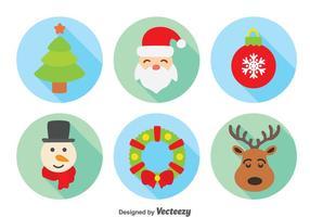 Jul element samling vektor