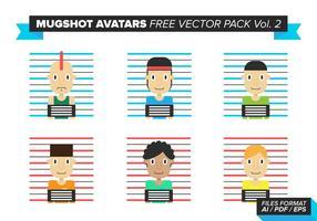 Mugshot Avatare Free Vector Pack Vol. 2