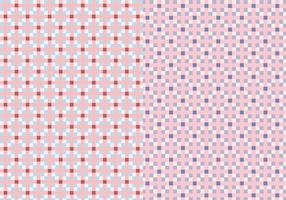 Rosa fyrkantsmönster vektor
