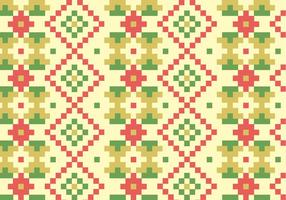 Native Blocks Pattern Bakgrund vektor