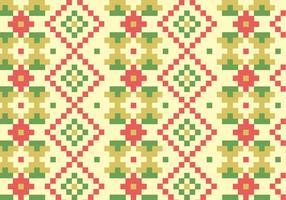 Native Blocks Pattern Hintergrund vektor