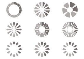 Einfache Grau Preloader Vektor
