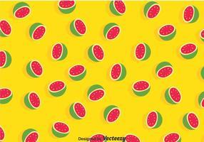 Guava gult mönster vektor