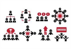 Samarbeta ikoner