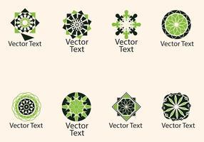 Portugisisk abstrakt logotyp vektor