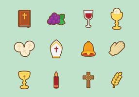 Free Cute Eucharist Vektor