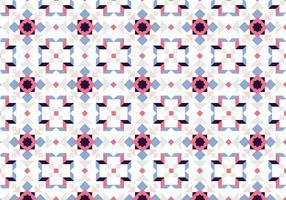 Mosaik-Pastellmuster vektor