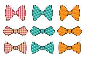 Set von Cravat Vektor