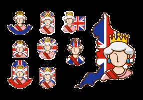 Drottning Elizabeth Vector