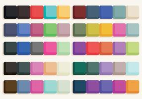Färgstämplar Vector