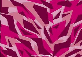 Lila Tarnung Muster vektor