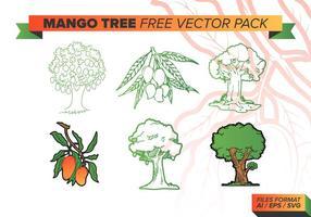 Mango Baum Free Vector Pack