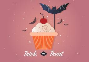Gratis Trick eller Treat Vector Illustration