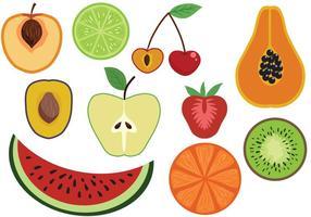 Gratis Fruktvektorer vektor