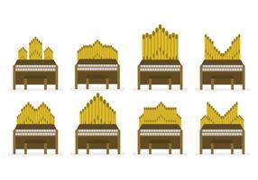 Gratis Pipe Organ Vector Set