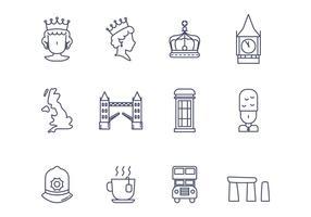 Kostenlose britische Vektor-Icon